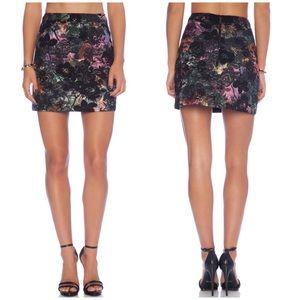 Alice + Olivia Revolve Riley A-Line Skirt Size 6